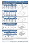 Kanalboden, Ausblaskanal 45°, Etage Übergang, Zu und Rückluft Filterdecke