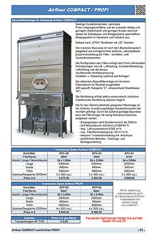 Airfiner COMPACT und Airfiner PROFI