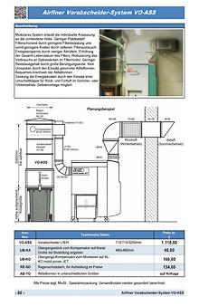 Airfiner Vorabscheider-System